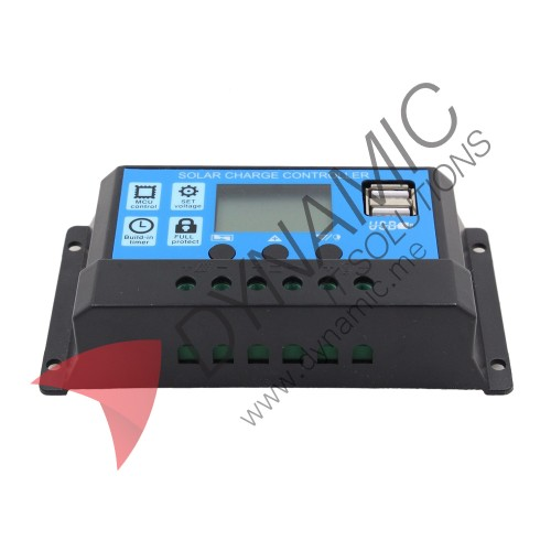 Solar Charge Controller 12/24V 10A