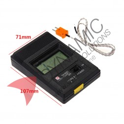K Type Thermometer + Thermocouple Probe TM-902C
